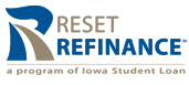 Image of the Reset Refinance Loan Logo